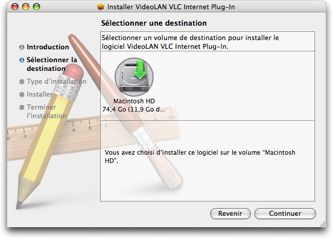 Installation of VLC 2
